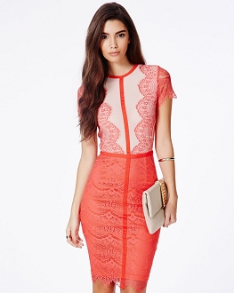 Asymmetric embellished silk dress